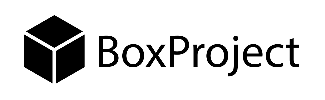 BoxProject logo black