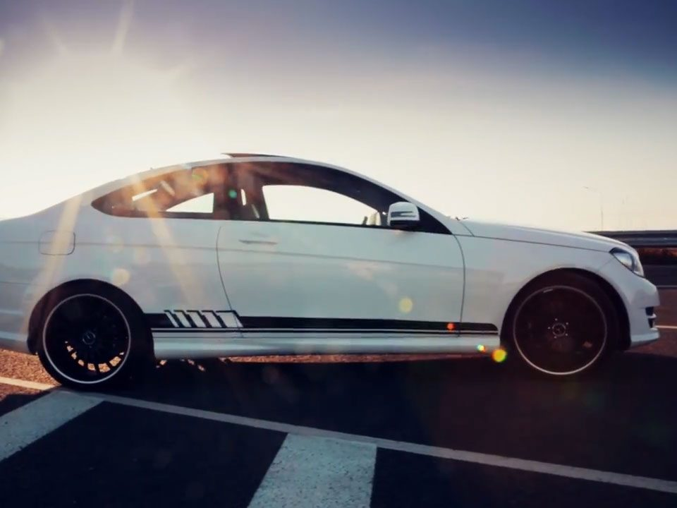 Mercedes AMG coupe