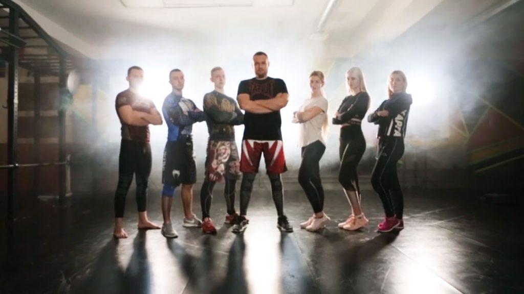 Rising Star фитнес рекламное видео